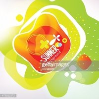 Bright colors abstract design background