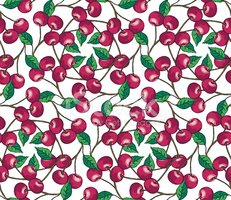 Cherry,Fruit,Pattern,Berry,...