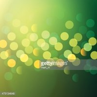 green and yellow bokeh lights