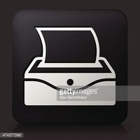 Black Square Button with Baby Wipes
