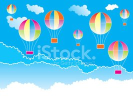 Hot Air Balloon,Child,Backg...