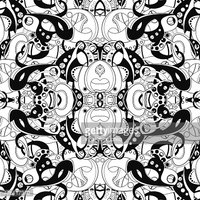 Carpet - Decor,Black And Wh...
