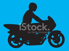 Motorcycle,motocycle,Silhou...