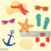 Hat,Vacations,Animal Shell,...