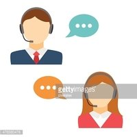 Male and Female Call Center Avatar