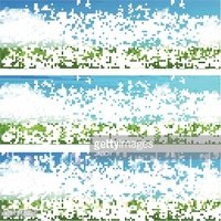 Blue,Green Color,Material,S...