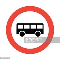 Bus icon great for any use. Vector EPS10.