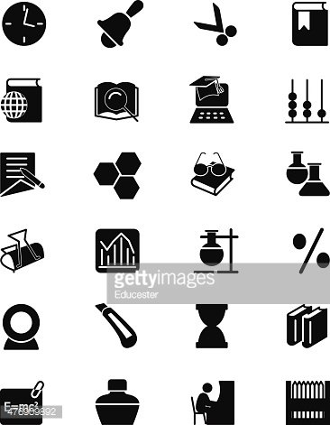 Education Vector Solid Icons 5