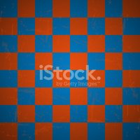 Checked abstract background