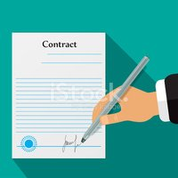 Contract,Sign,Legal System,...