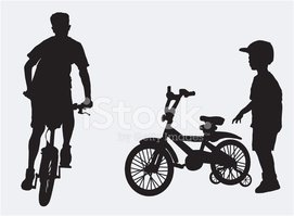 Cycling,Wheel,Silhouette,Le...