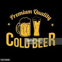 Cold Beer icon, label or stamp