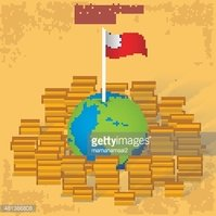 Finance,Flag,Yellow,Currenc...