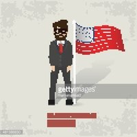 Business,Flag,Adult,Illustr...