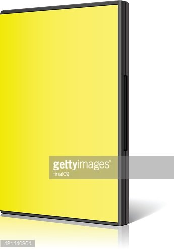 Yellow Case for DVD OR CD Vector stock vectors - Clipart.me