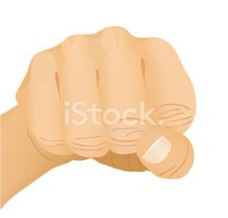 Fist,Human Hand,Moving Up,S...