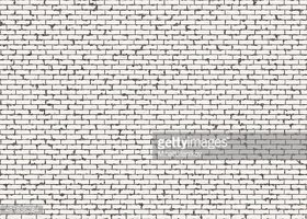 HI Res Red Small Brick Wall Pattern With Noise Texture stock vectors