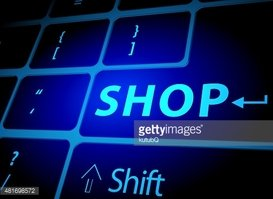 Shop button on computer keyboard