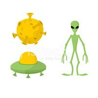 UFO,Background,outer,Alien,...