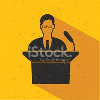 Businessman design on yellow background,vector