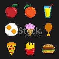 Raw Potato,Candy,pixel art,...