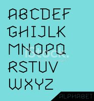 Graphic Alphabet Set