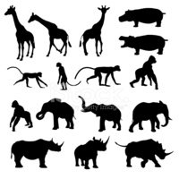 Animal,Silhouette,Africa,Mo...