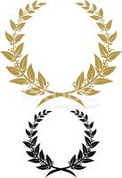 Laurel Wreath,Victory,Crown...