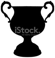 Trophy,Silhouette,Symbol,Aw...