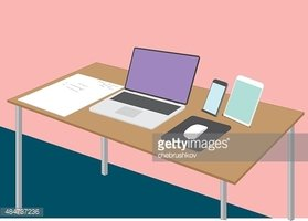 Place of Work,Desk,Technolo...