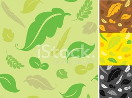 Seamless,Leaf,Backgrounds,I...