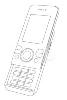 Mobile Phone,Outline,Teleph...