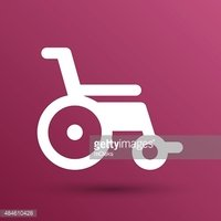 Disabled Icon Sign Vector Wheelchair Handicap Symbol stock vectors ...