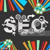 SEO Dark Colorful Elements