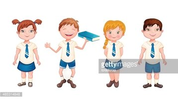 Happy Kids In School Clipart Images High Res Premium Images