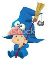 Baby,Halloween,Witch,Cute,C...
