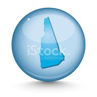 New Hampshire,Map,Sphere,Co...