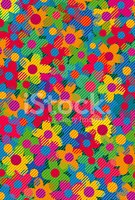 Pop Art,Flower,Pattern,1940...