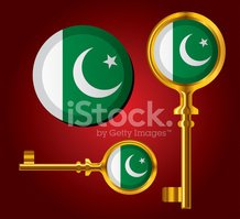 Pakistan,Pakistani Flag,Key...