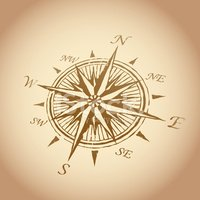 Compass,Compass Rose,Map,Ad...
