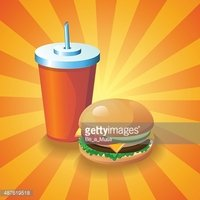 Cola Glass,Fast Food Drink,...