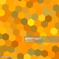 Abstract hexagon composition. Flat screen art. Ornate diamond. Brilliant ideas.