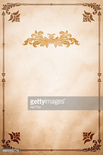 Old Paper With Decorative Vintage stock vectors - Clipart.me