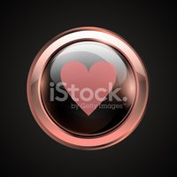 Red love button