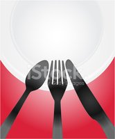 Plate,Fork,Silverware,Spoon...
