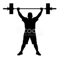 Guy Lifting Weights Png Transparent Images - Weightlifting Clipart , Free  Transparent Clipart - ClipartKey