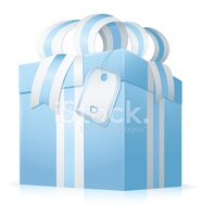 Gift,Label,Bow,Vector,Blue,...
