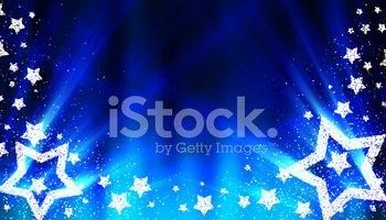 Star Shape,Christmas,Blue,B...
