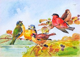 Watercolor Painting,Fine Ar...