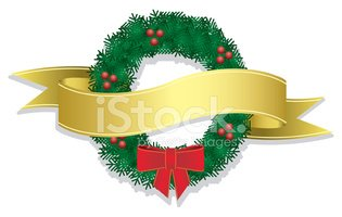 Wreath,Christmas,Banner,Hol...